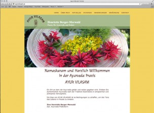 ayurvilasam website home
